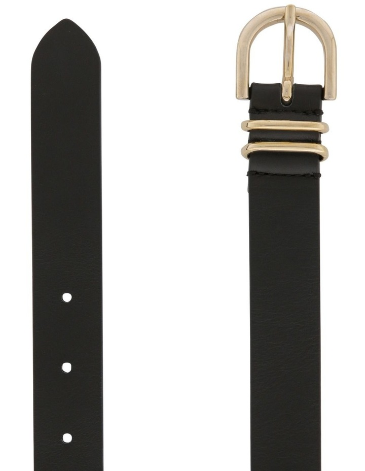 2.5cm Classic Leather Belt image 2
