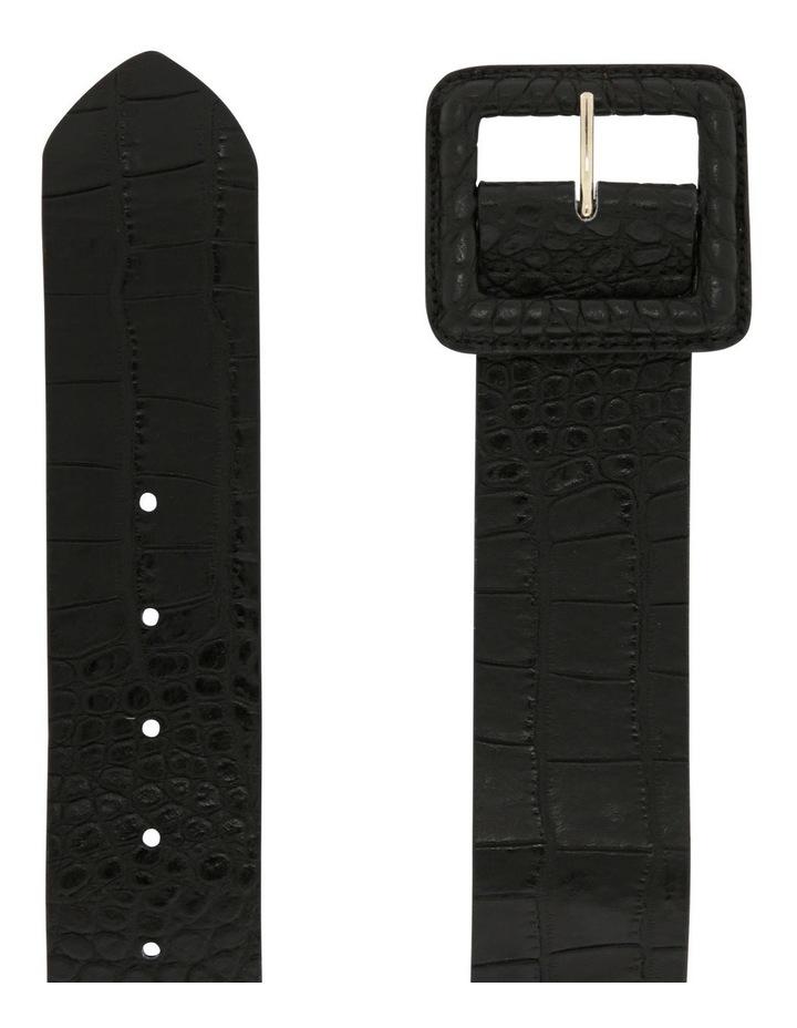 Statement Croc Waist Belt image 2