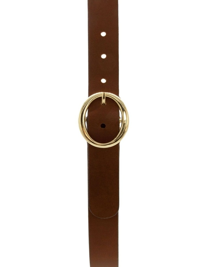 Tobacco Tan Leather Maggie Daley Belt image 1
