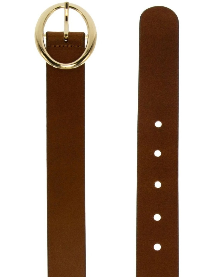 Tobacco Tan Leather Maggie Daley Belt image 2