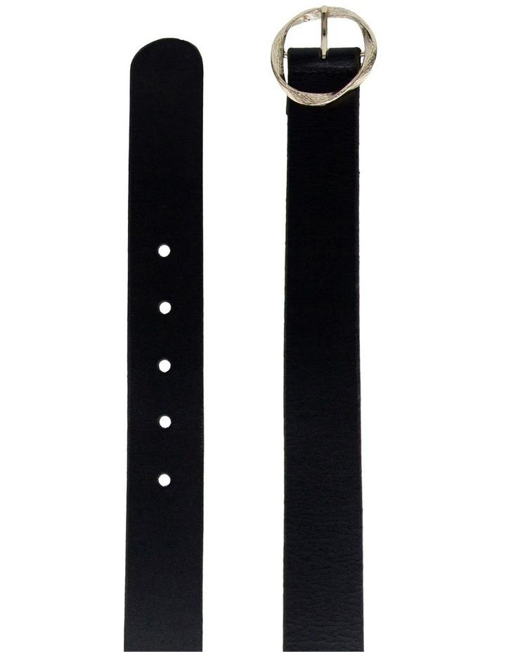Black Leather Rosie Belt image 2