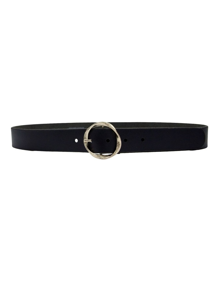 Black Leather Rosie Belt image 3