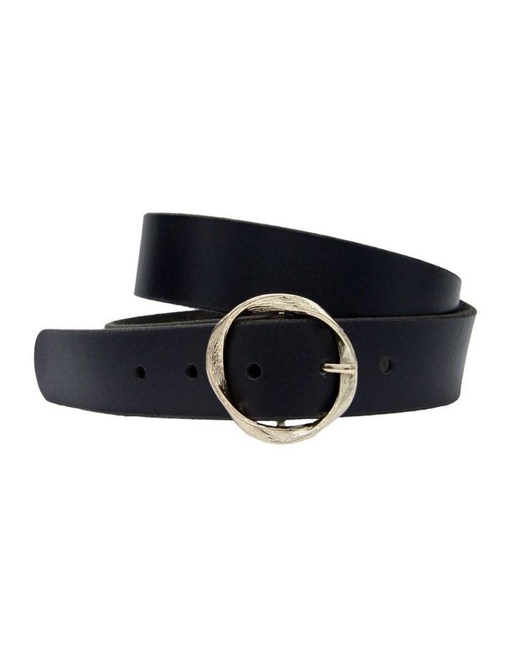 Black Leather Rosie Belt image 4