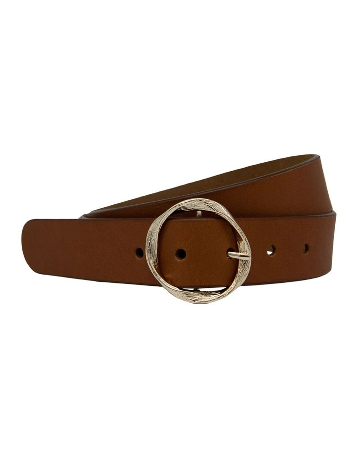Trent Nathan Tobacco Tan Leather Rosie Belt image 3
