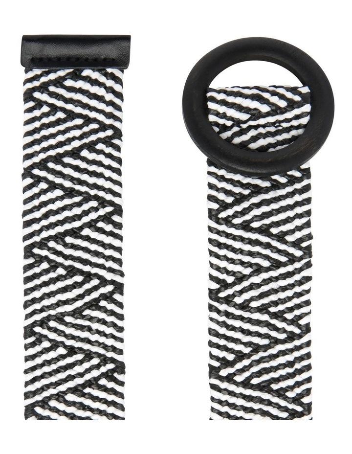 Woven Pattern Belt image 2