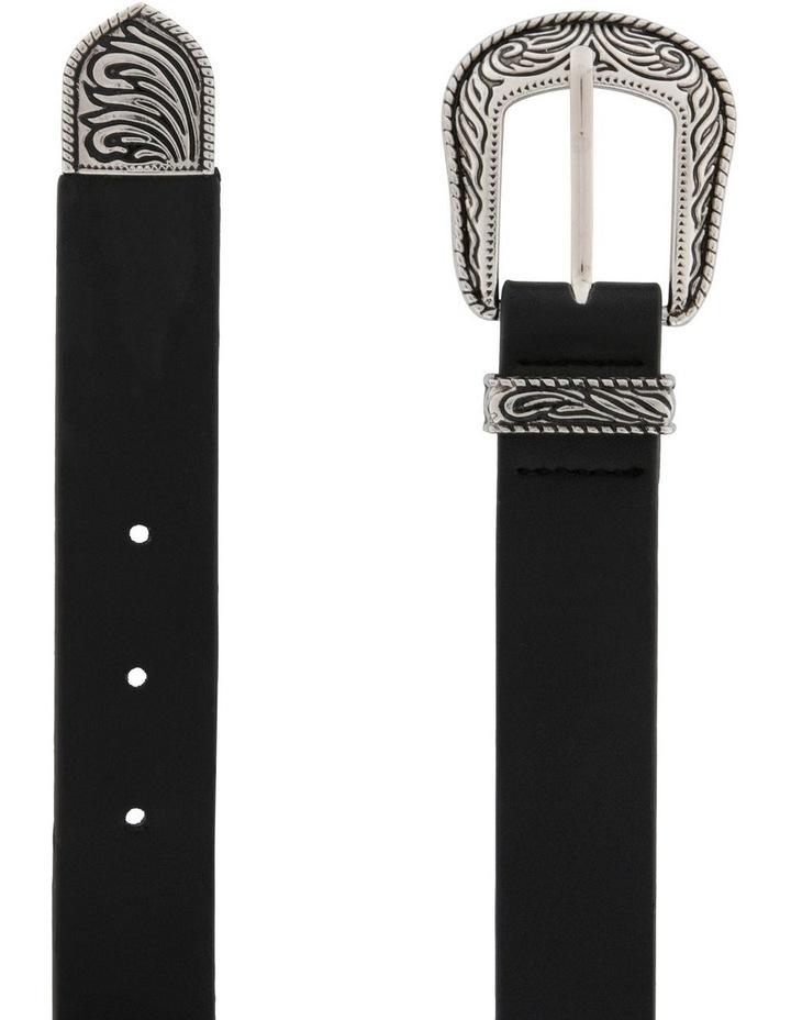 Western-Style Buckle Belt image 1