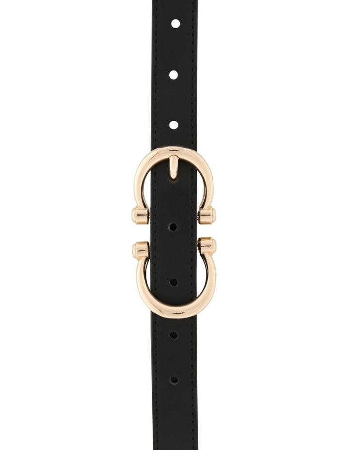 Double Horse Shoe Buckle Belt image 1