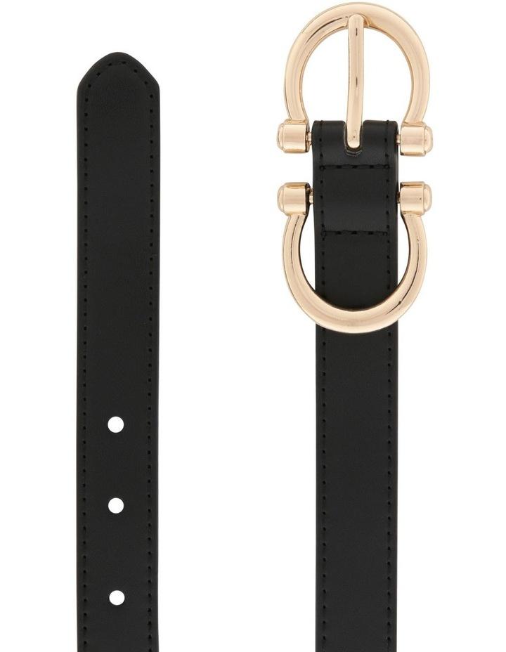Double Horse Shoe Buckle Belt image 2