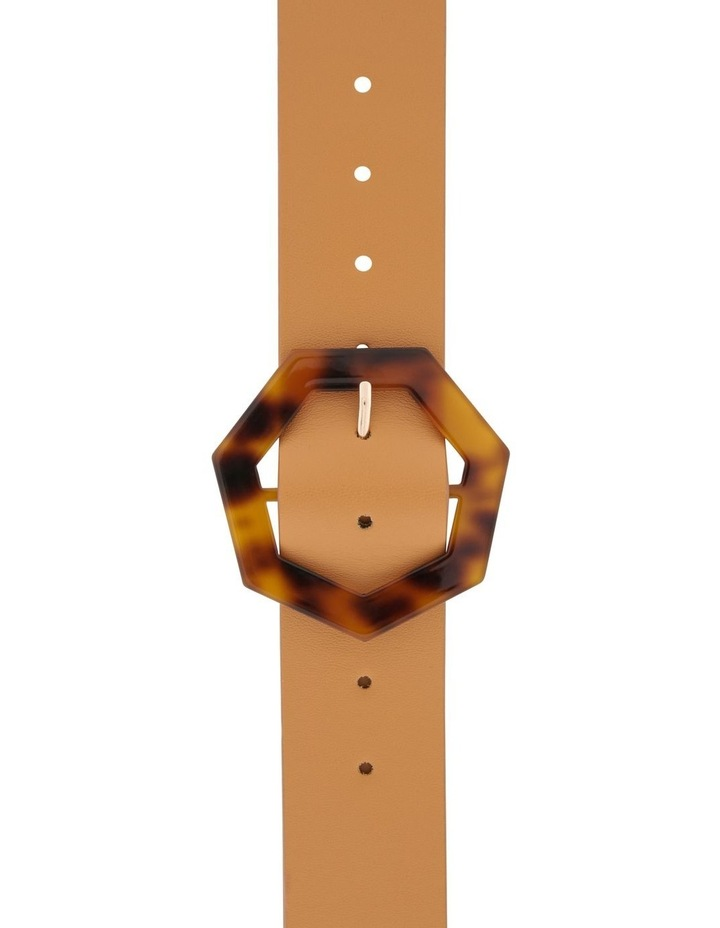 Octagon Tortoiseshell Buckle Belt image 1