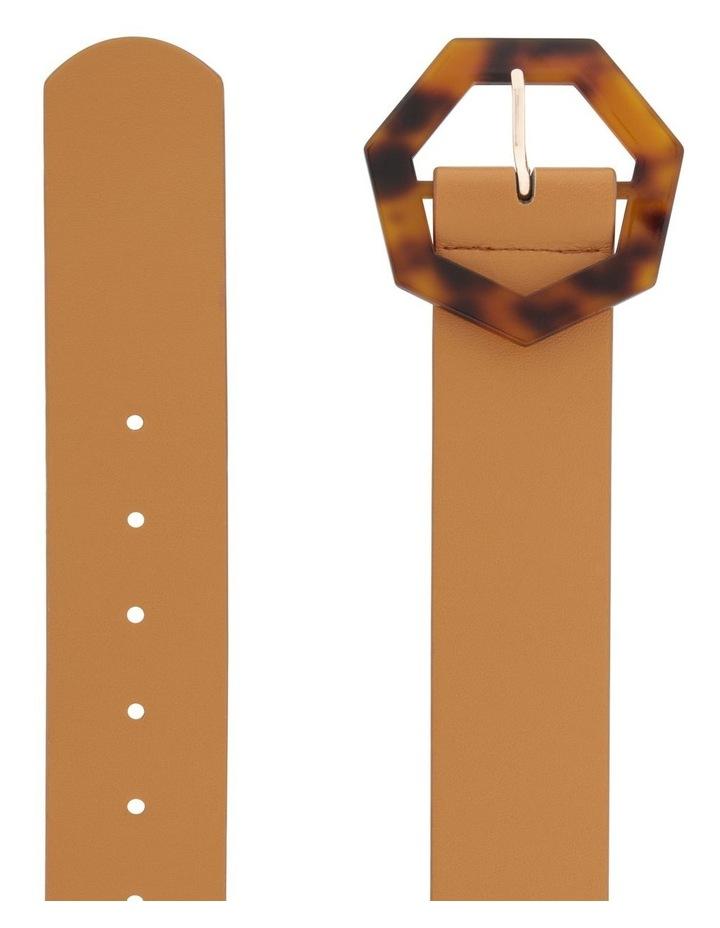 Octagon Tortoiseshell Buckle Belt image 2
