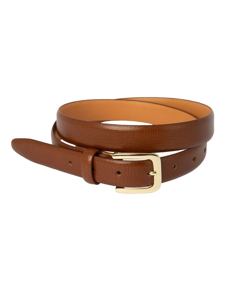 Tan Leather Bliss Belt image 1