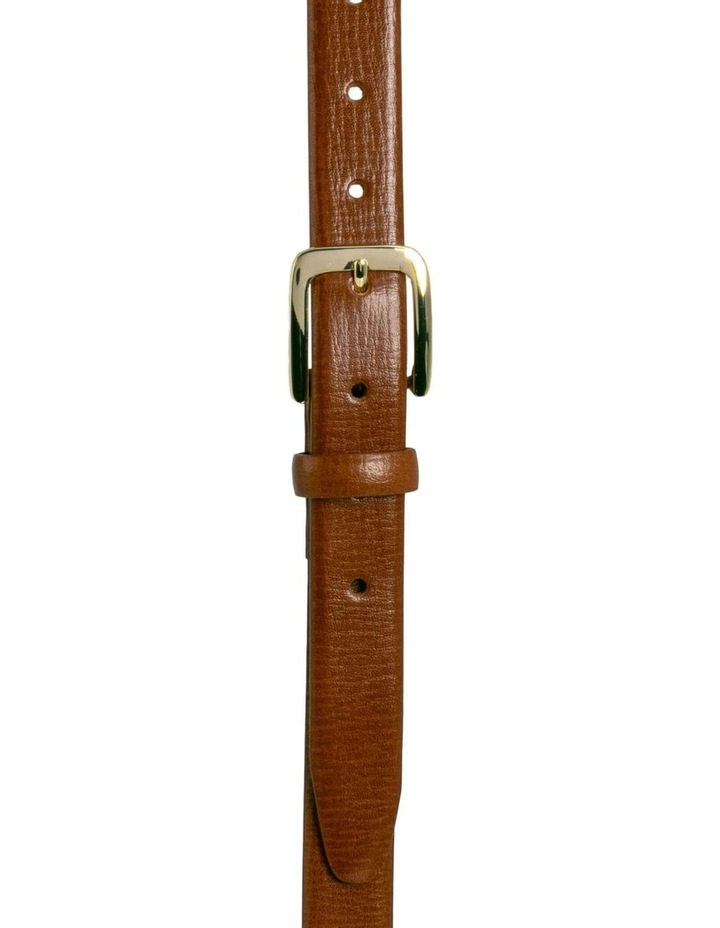Tan Leather Bliss Belt image 3