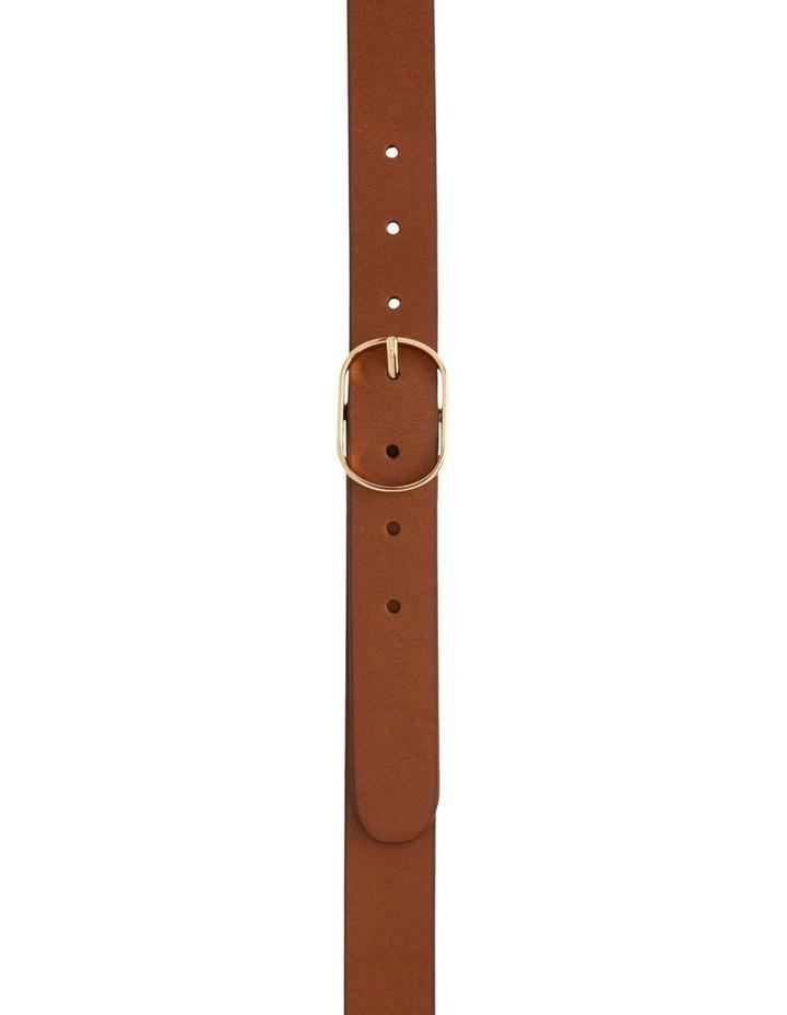 Tobacco Tan Leather Redhead Belt image 1