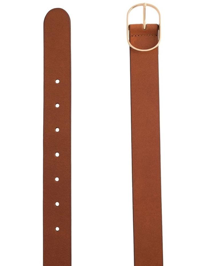 Tobacco Tan Leather Redhead Belt image 2