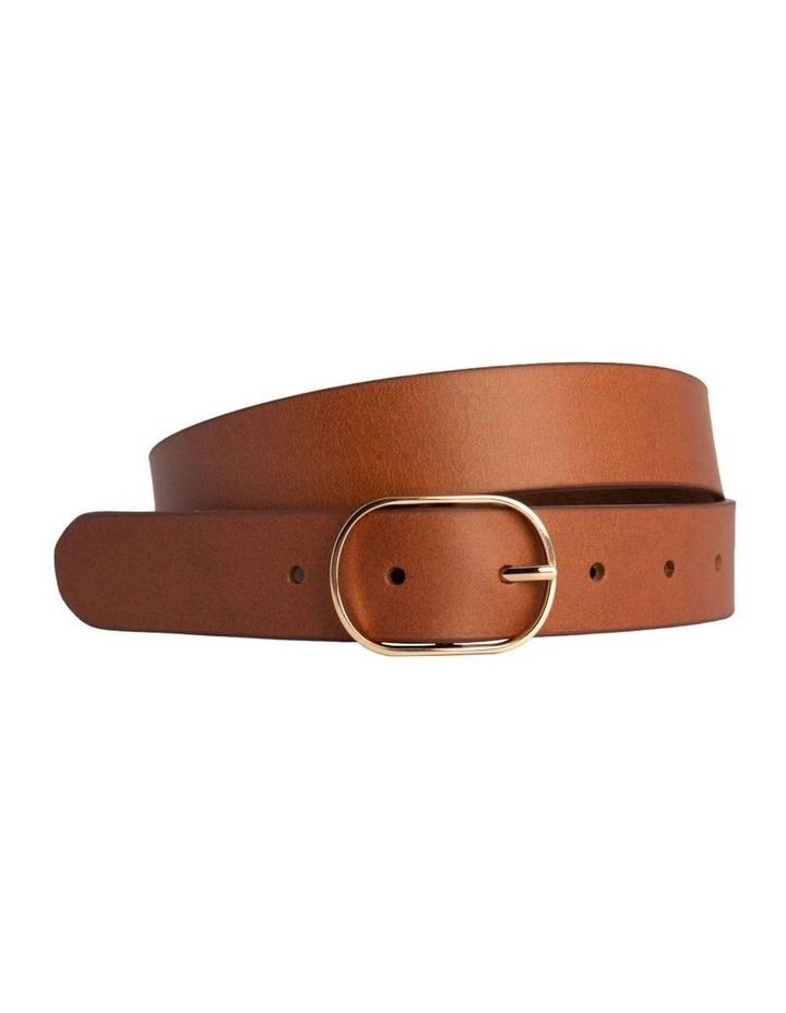 Tobacco Tan Leather Redhead Belt image 3