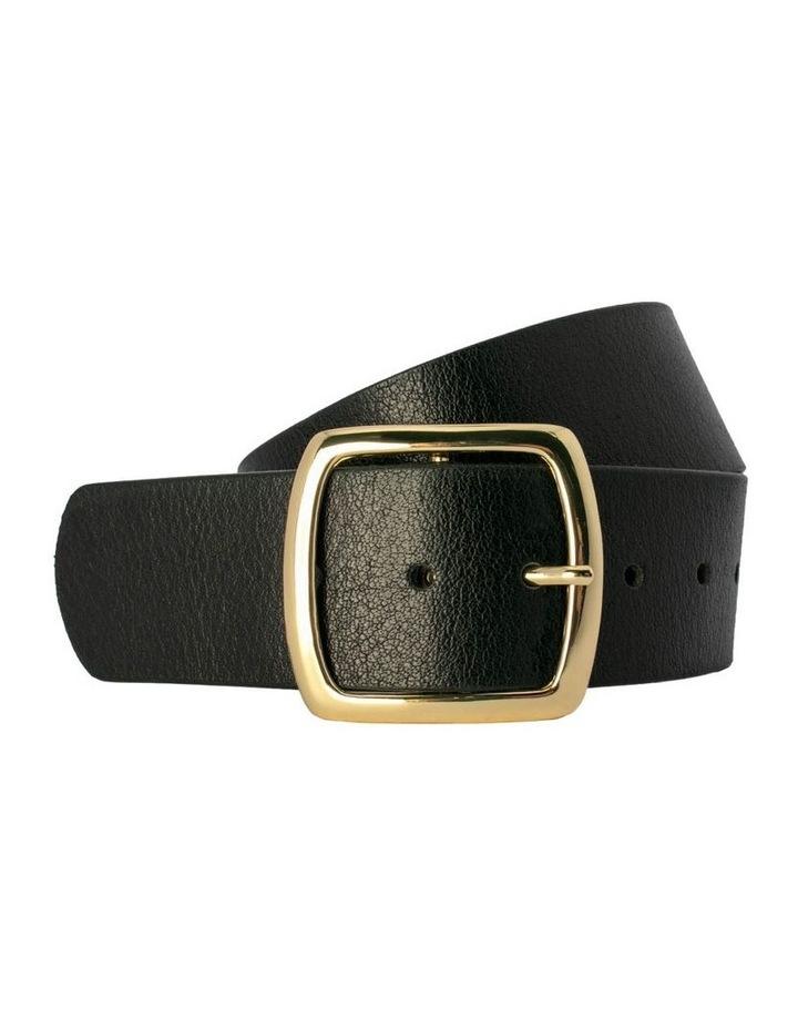 Black Leather Alexis Belt image 1