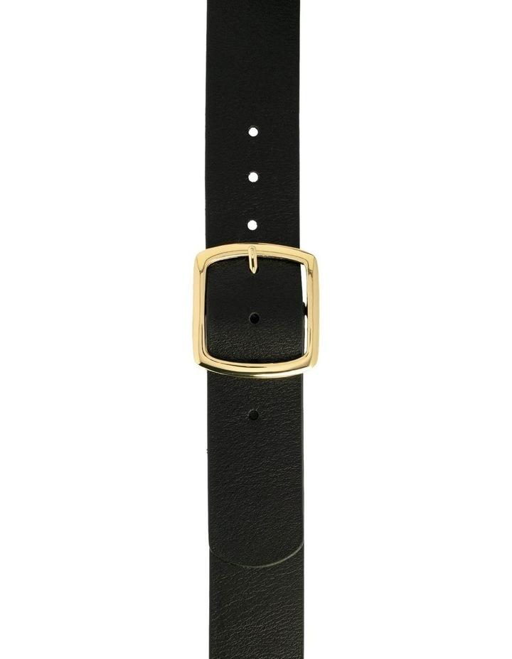 Black Leather Alexis Belt image 3