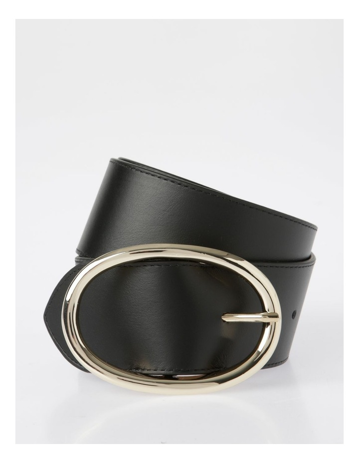 Wide Oval Buckle Belt image 1