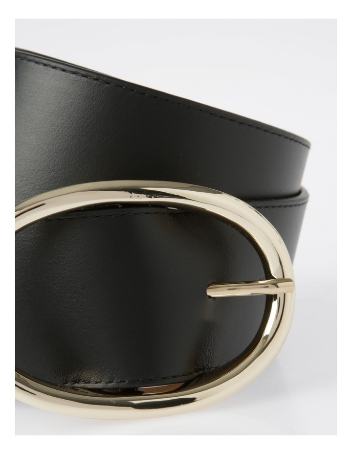 Wide Oval Buckle Belt image 2