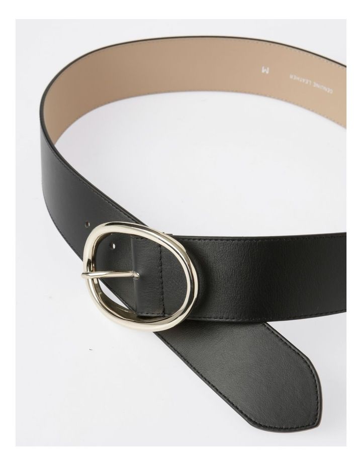 Wide Oval Buckle Belt image 3