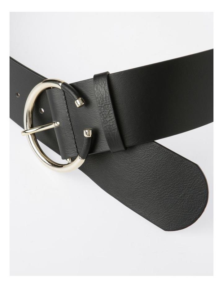 Statement Circular Buckle Belt image 3