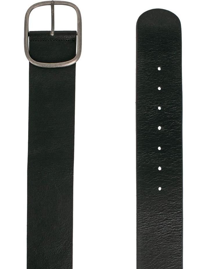 Trent Nathan Melrose Black Leather Waist Belt image 2