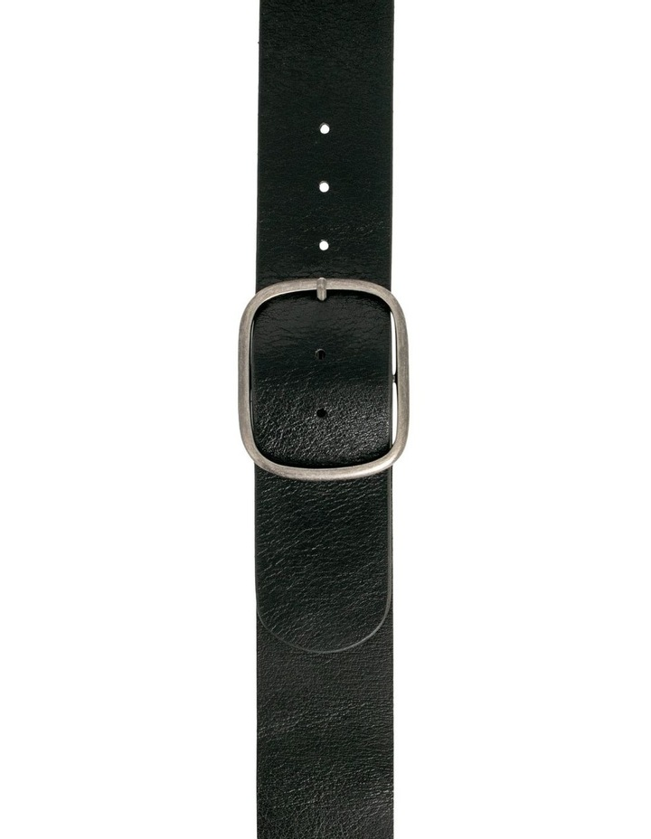 Trent Nathan Melrose Black Leather Waist Belt image 3