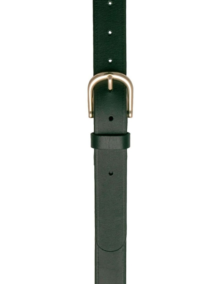 Briscoe Lane Black Leather Belt image 1