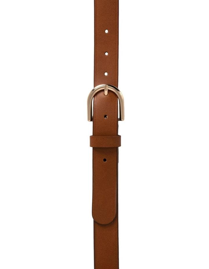 Briscoe Lane Tobacco Tan Leather Belt image 1