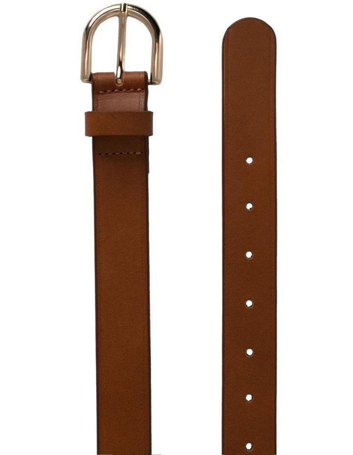 Briscoe Lane Tobacco Tan Leather Belt image 2