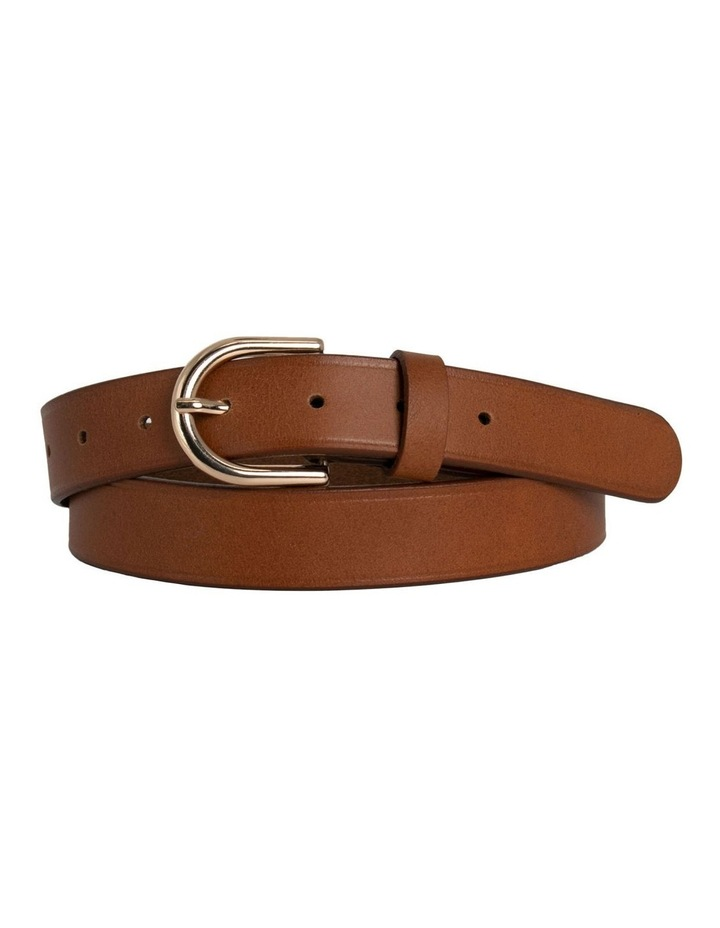 Briscoe Lane Tobacco Tan Leather Belt image 3