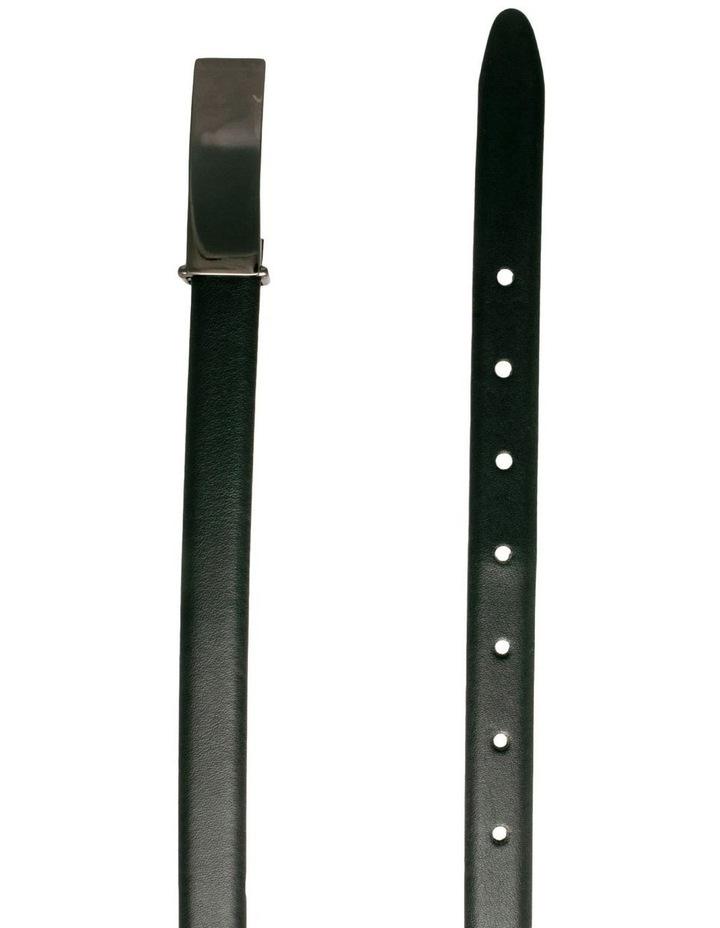 Trent Nathan Audrey Black Leather Belt image 2