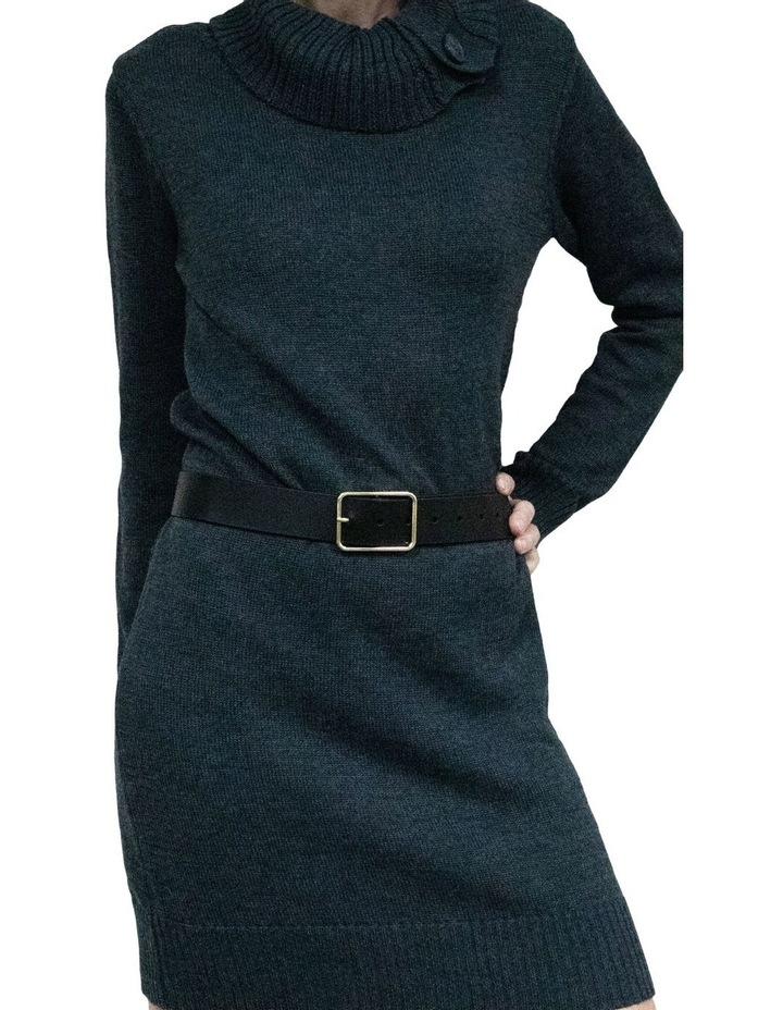 Tess Black Leather Belt image 2