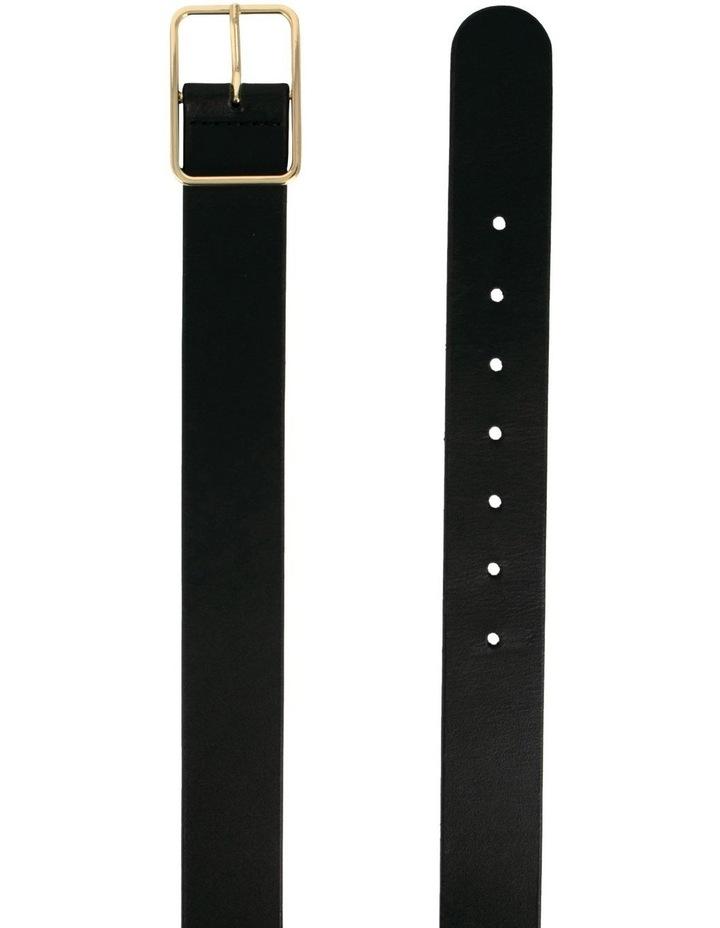 Tess Black Leather Belt image 4