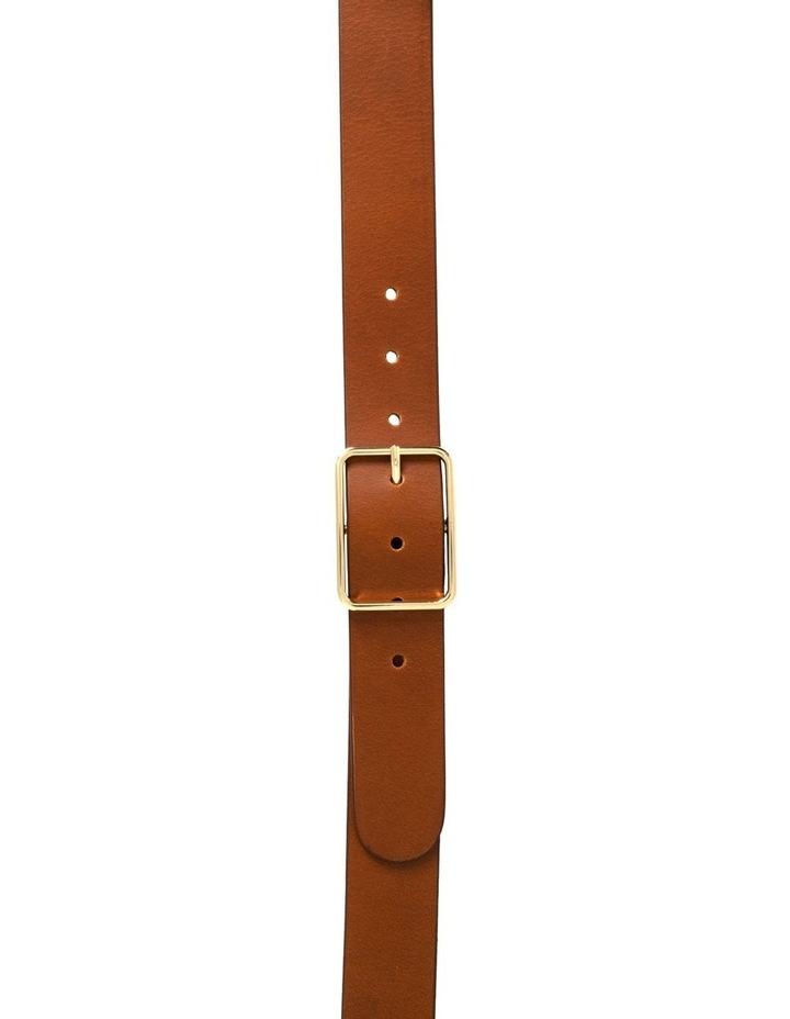 Tess Tobacco Tan Leather Belt image 2