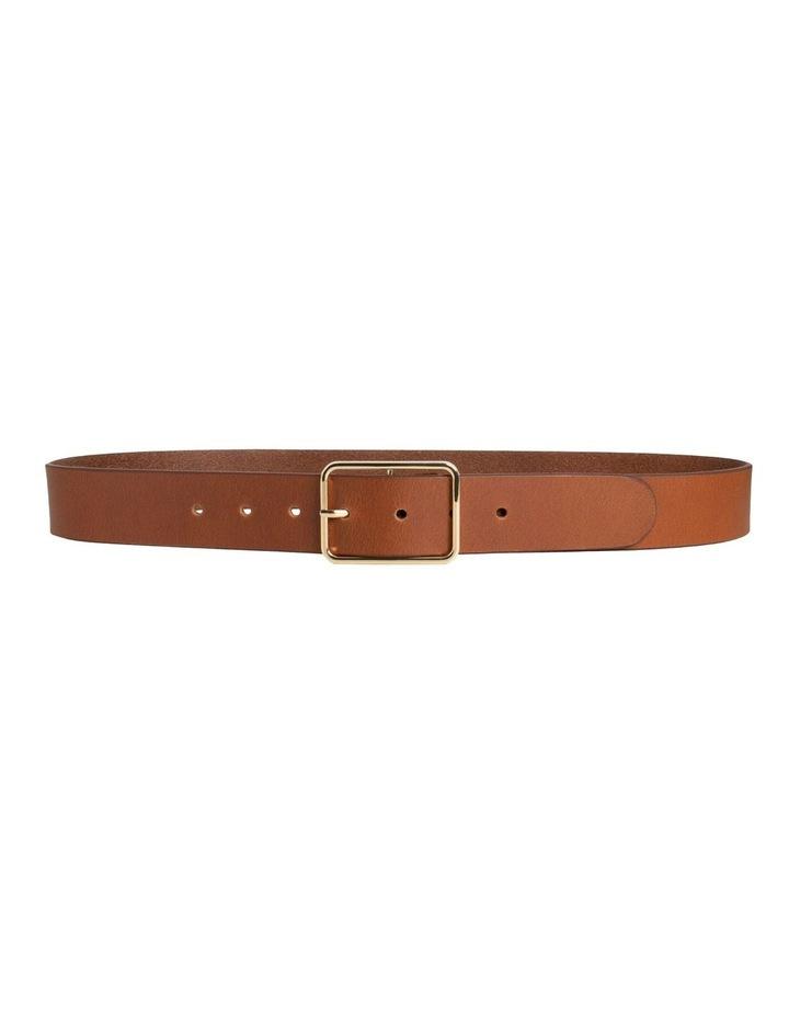 Tess Tobacco Tan Leather Belt image 4