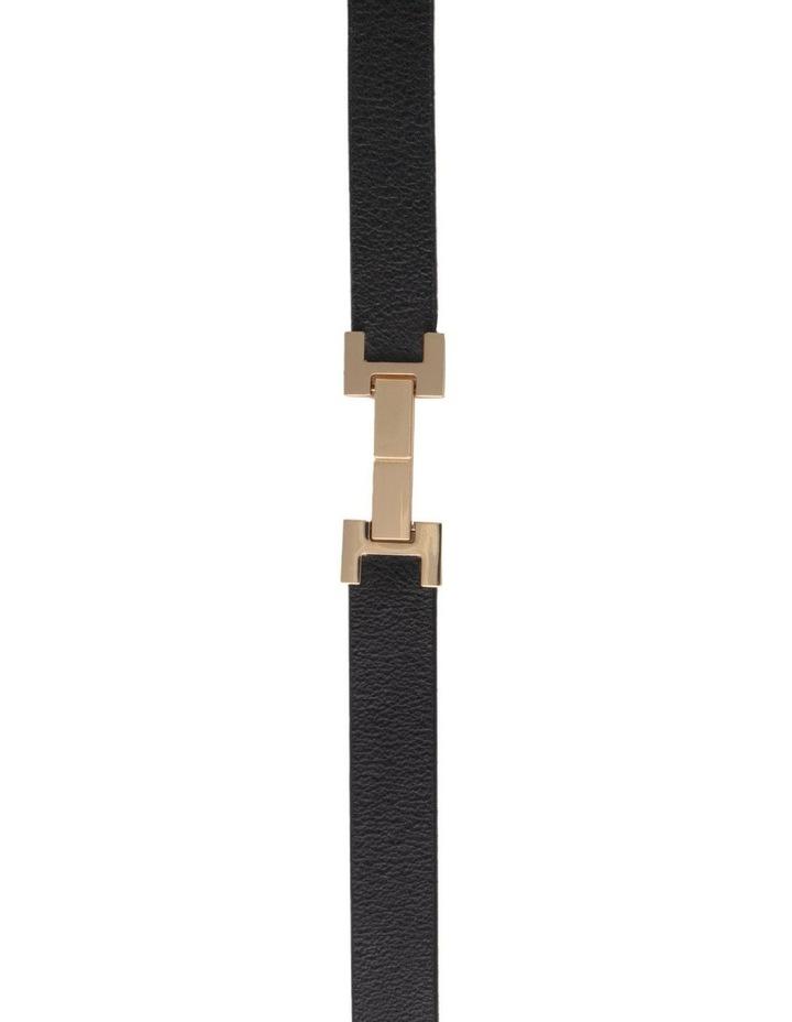 Grace Black Leather Belt image 2
