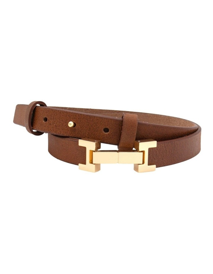 Grace Tan Leather Belt image 1