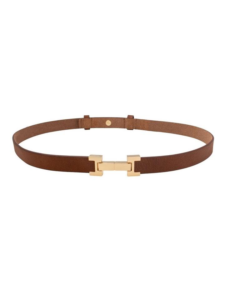 Grace Tan Leather Belt image 3