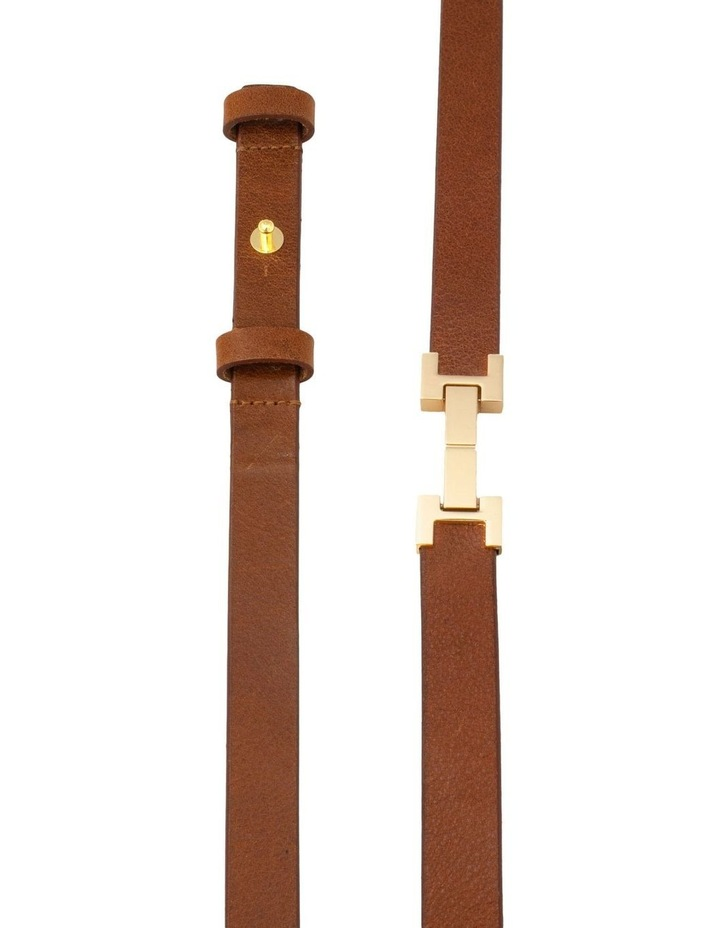 Grace Tan Leather Belt image 4