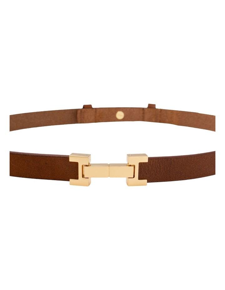 Grace Tan Leather Belt image 5