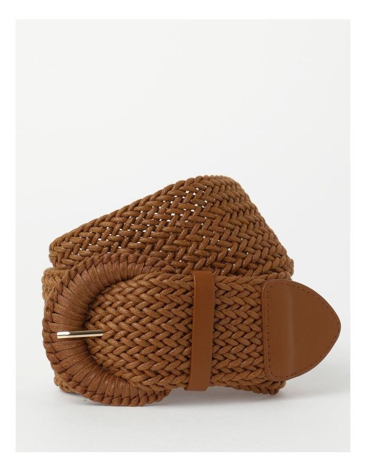 Weave Tan Belt image 1