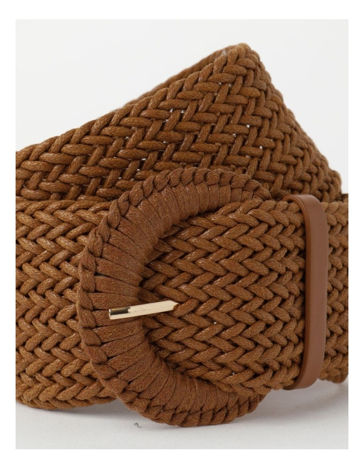 Weave Tan Belt image 2
