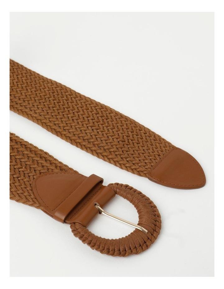 Weave Tan Belt image 3
