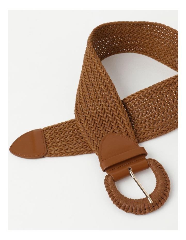 Weave Tan Belt image 4