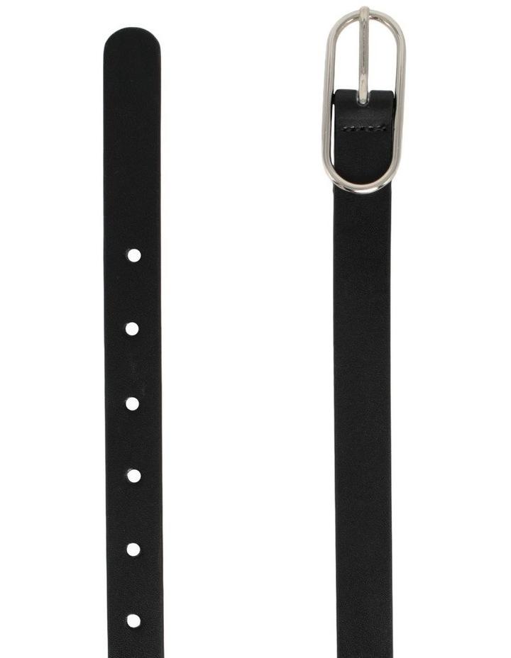 Willow Black Leather Belt image 3