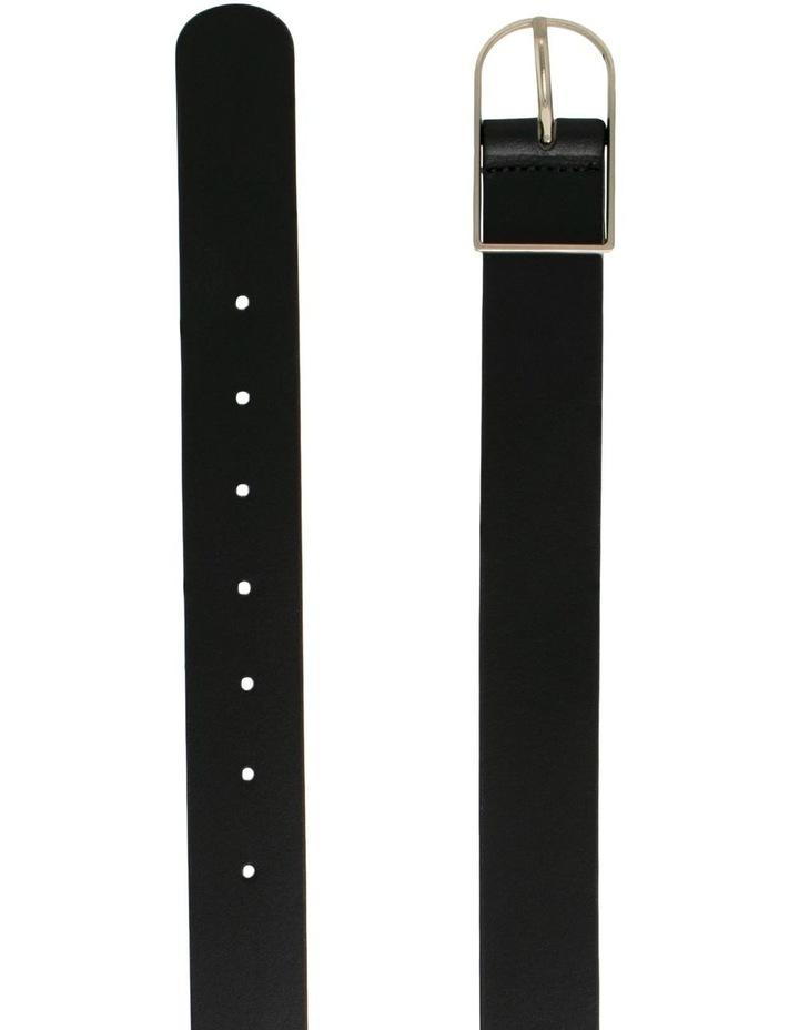Olinda Black Leather Belt image 2