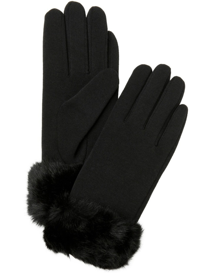 Glove with Fur Cuff image 1
