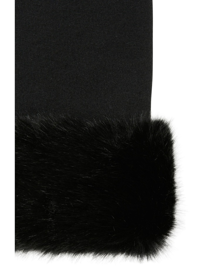 Glove with Fur Cuff image 2