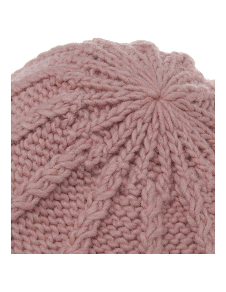 Cable Knit Beanie 3167 image 4